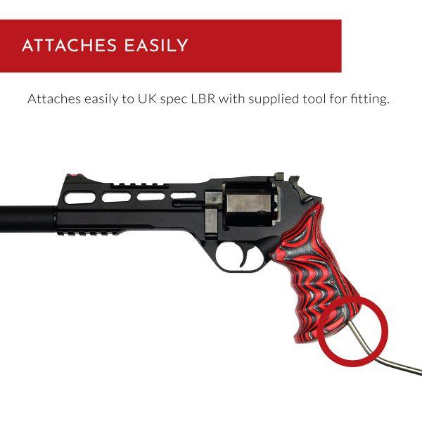 Chiappa Rhino Grips LBR - Attaches easily