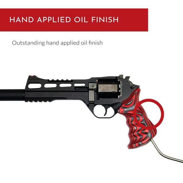 Chiappa Rhino Grips LBR - Hand applied oil finish